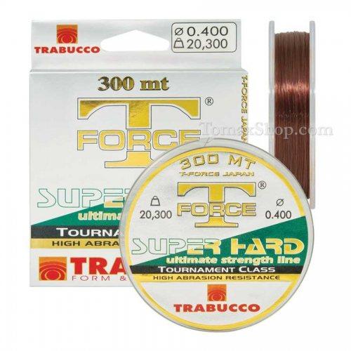 TRABUCCO T-FORCE SUPER HARD 300m, монофилно влакно - Риболовни принадлежности TomaxShop ®