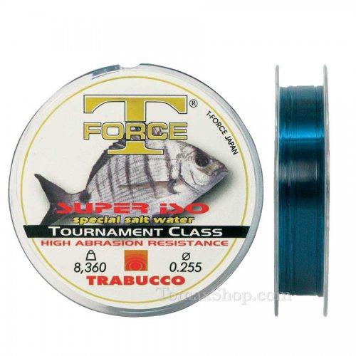 TRABUCCO T-FORCE SUPER ISO 150m, монофилно влакно - Риболовни принадлежности TomaxShop ®