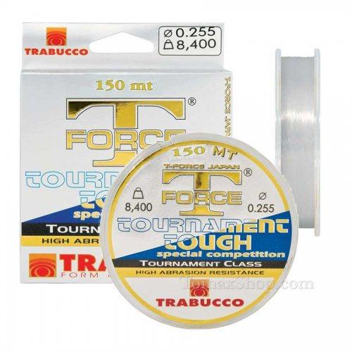 TRABUCCO T-FORCE TOURNAMENT TOUGH 150m, монофилно влакно - Риболовни принадлежности TomaxShop ®