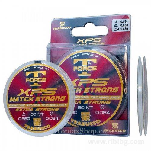 Монофилно влакно TRABUCCO T-FORCE XPS MATCH STRONG 50m - Риболовни принадлежности TomaxShop ®
