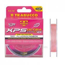 TRABUCCO T-FORCE XPS ULTRA STRONG FC403 PINK SW 50m, флуорокарбон влакно