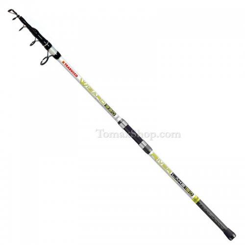 TRABUCCO WIZARD RIVER LAKE 150gr. 3.90m., въдица за дънен риболов - Риболовни принадлежности TomaxShop ®