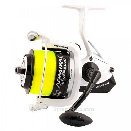 Сърф макара TRABUCCO ADMIRAL SURF 8000 - Риболовни принадлежности TomaxShop ®