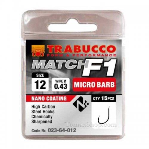 TRABUCCO F1 MATCH, риболовни куки - Риболовни принадлежности TomaxShop ®