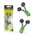 Пластмасов двоен звънец TRABUCCO FISHING BELL XP02, 2 броя - Риболовни принадлежности TomaxShop ®