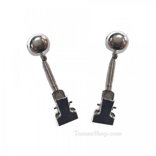 Единичен метален звънец с щипка TRABUCCO FISHING BELL XP07, 2 броя - Риболовни принадлежности TomaxShop ®