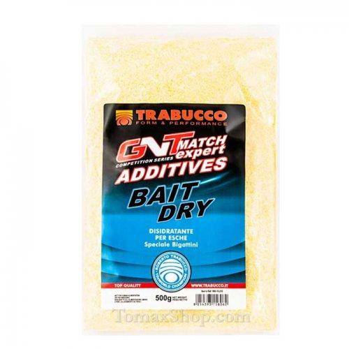 Дехидратираща добавка за червеи TRABUCCO GNT MATCH EXPERT BAIT DRY 500гр - Риболовни принадлежности TomaxShop ®