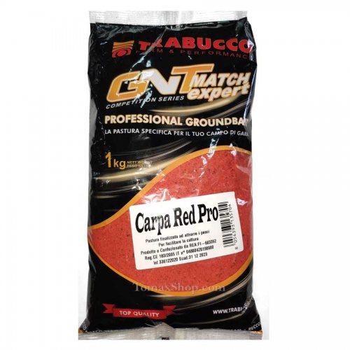 Захранка TRABUCCO GNT MATCH EXPERT CARPA RED PRO 1 кг - Риболовни принадлежности TomaxShop ®
