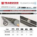 TRABUCCO VANADIA XT MATCH 10-60gr. 4.50m., телемач въдица - Риболовни принадлежности TomaxShop ®