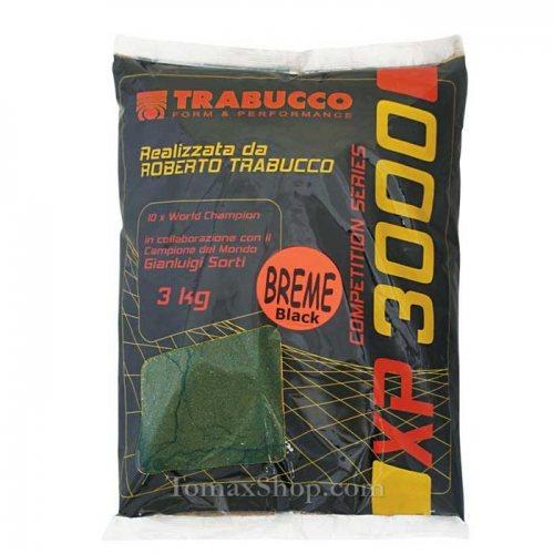 Захранка TRABUCCO XP 3000 BREME BLACK 3 кг - Риболовни принадлежности TomaxShop ®