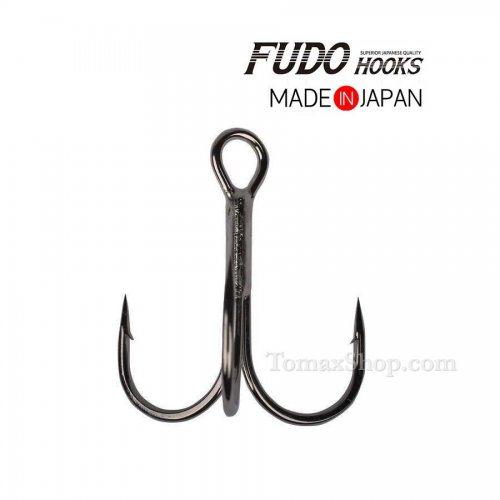 Тройни куки FUDO TREBLE 2201 BN - Риболовни принадлежности TomaxShop ®