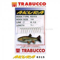 Вързани куки TRABUCCO AKURA 6315