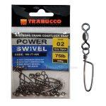 Вирбели TRABUCCO X-STRONG CRANE COASTLOCK SNAP - Риболовни принадлежности TomaxShop ®