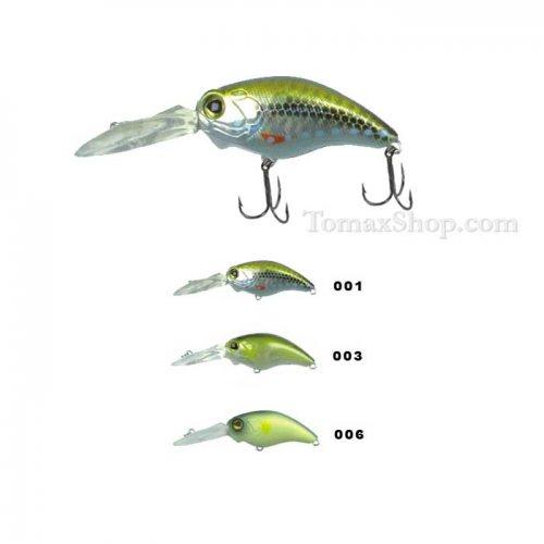 Воблер ZEOLITE BANDIT DIVE-XX 5см - Риболовни принадлежности TomaxShop ®